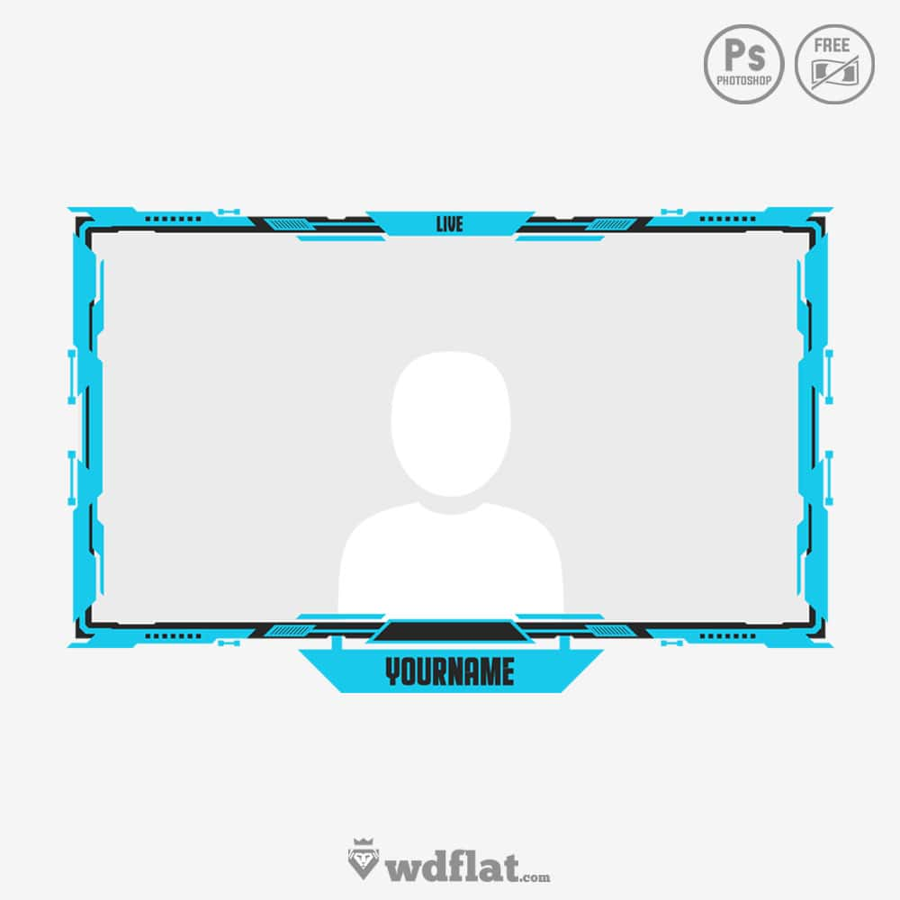 Twitch Overlay, Panels and Youtube Template.