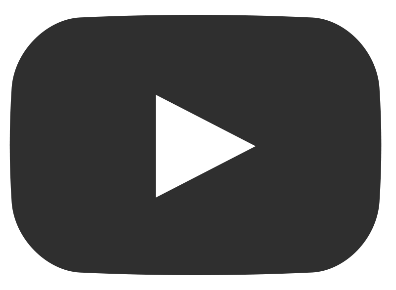 Play Youtube Grey Button transparent PNG.