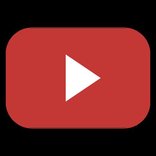 Youtube play button logo.