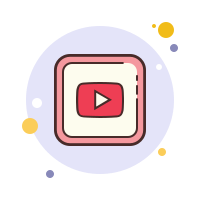 Youtube play Icons.