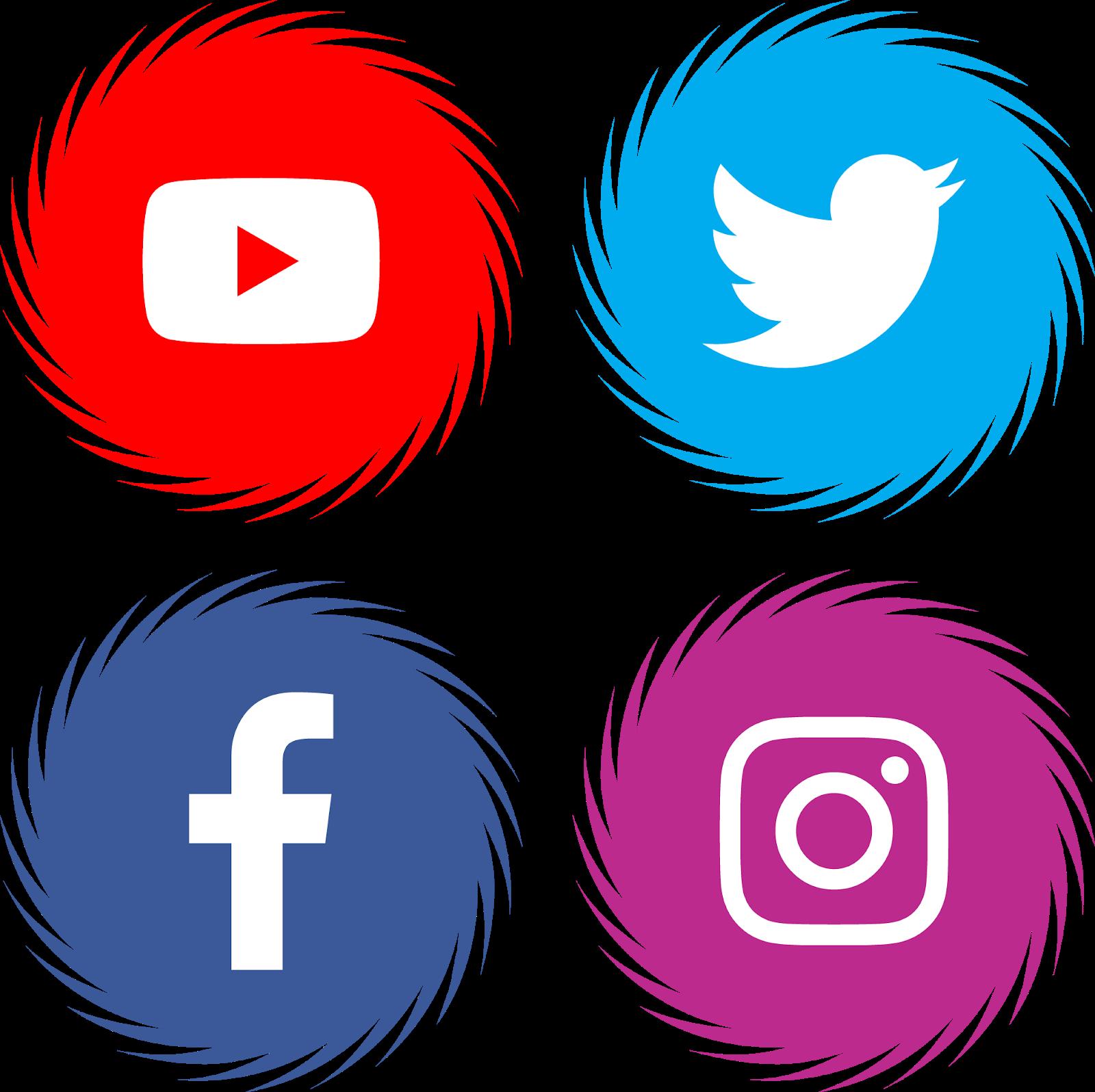Facebook Twitter Instagram Youtube Logo.