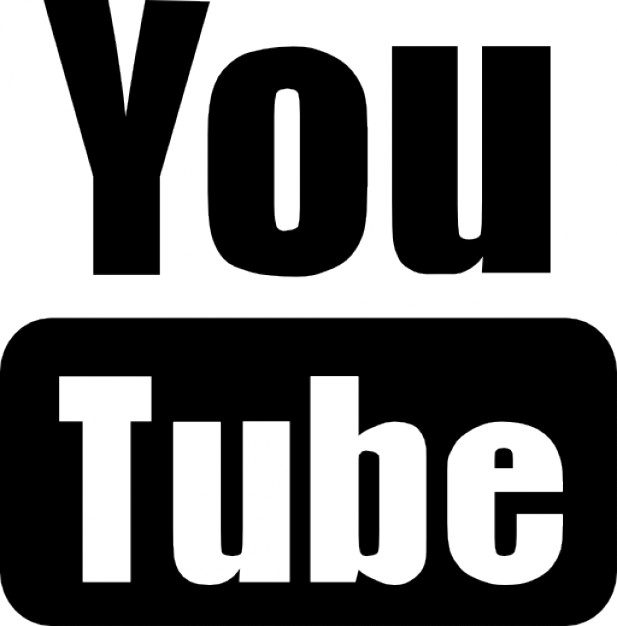 Youtube logo Icons.