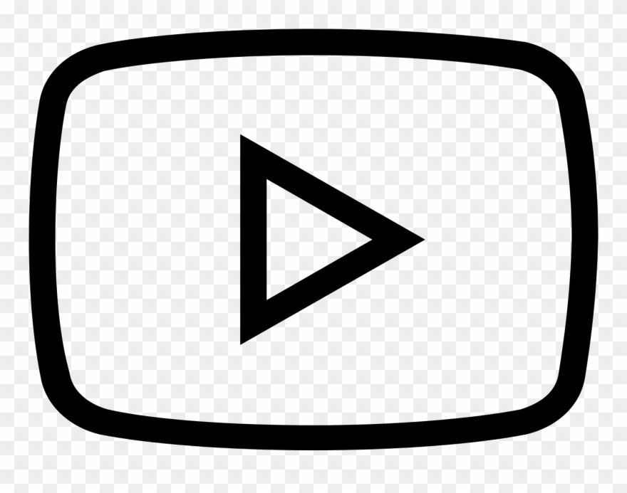 Youtube Clipart Png Black.