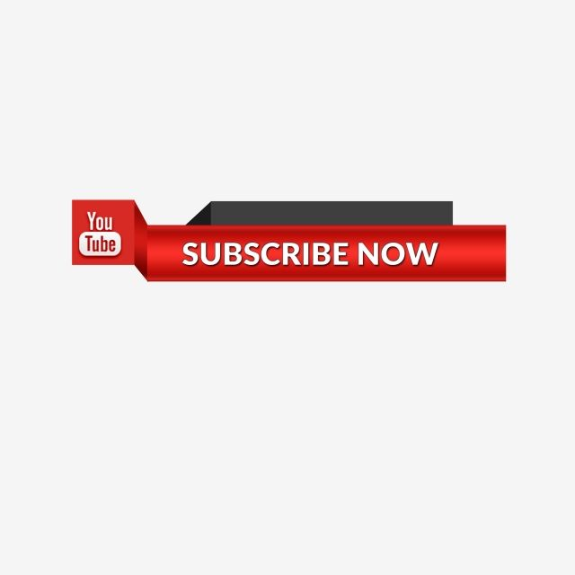 Youtube Subscribe Button Icon Lower Third, Subscribe, Youtube.