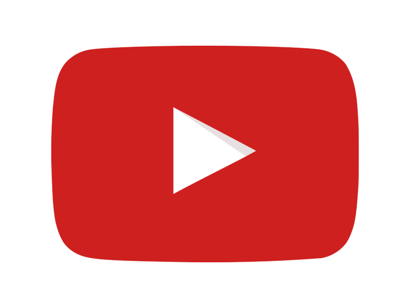 YouTube icon Logo PNG Transparent & SVG Vector.