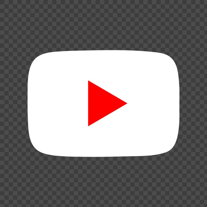 Youtube White Icon PNG Free Download searchpng.com.