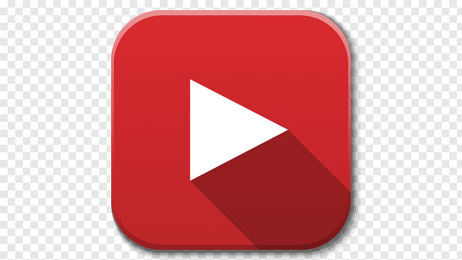 YouTube logo, square angle symbol, Apps Youtube B free png.