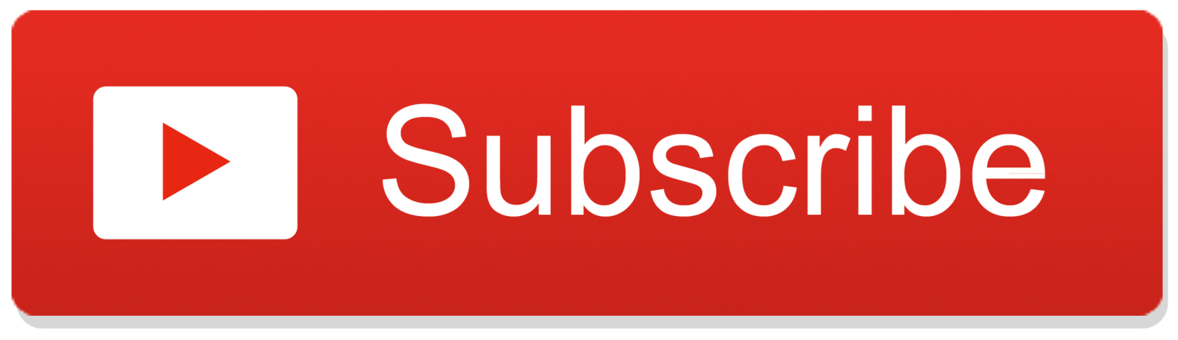 Subscribe Youtube Button transparent PNG.