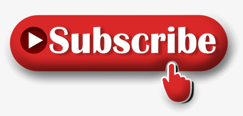 3d Subscribe Button Png Image Transparent Background.
