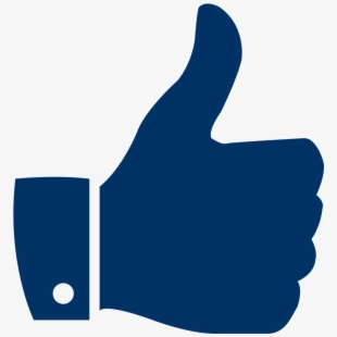 Youtube Thumbs Up PNG Images.