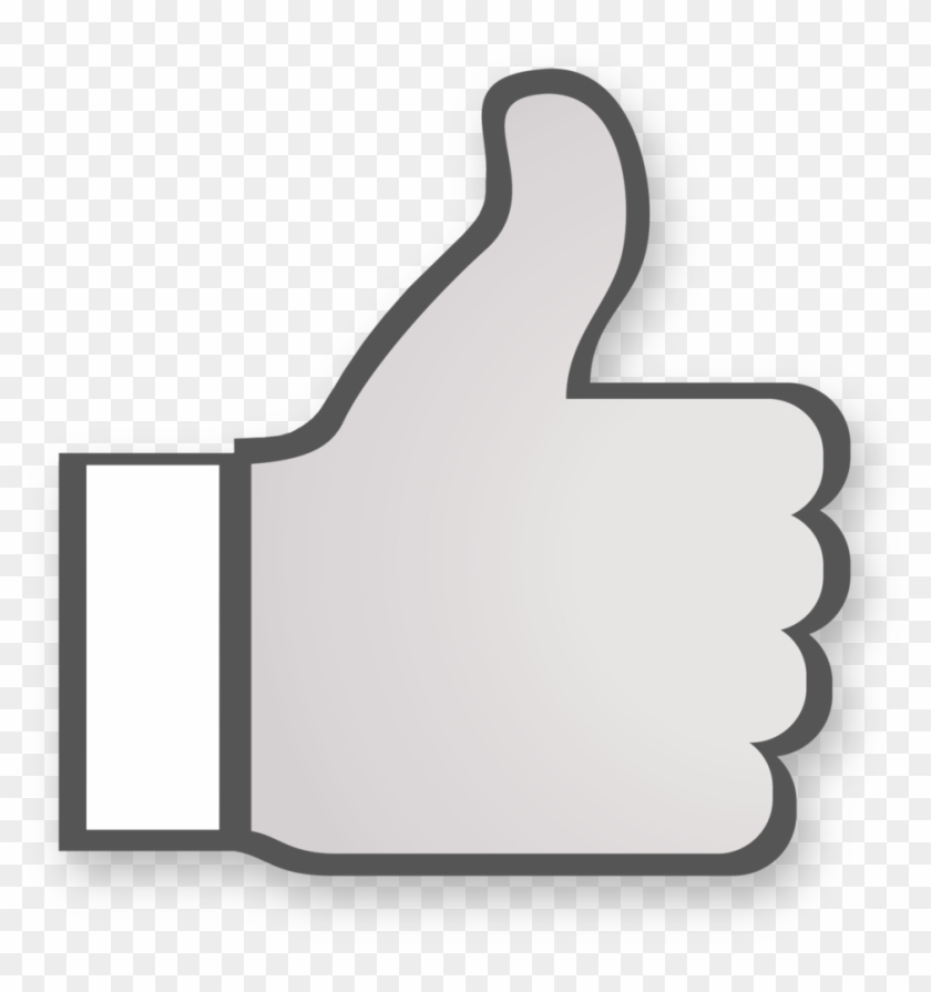 Youtube Thumbs Up Png, Transparent Png.