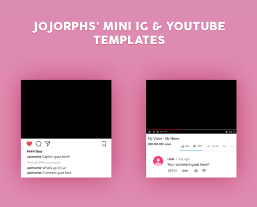 youtube template.