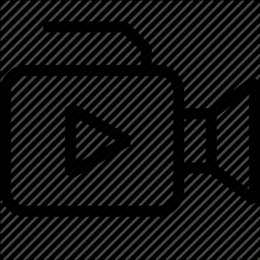 Youtube Logo Black And White clipart.