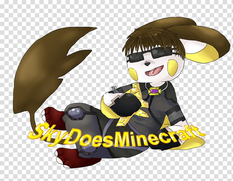Youtubers as Pokemon #, SkyDoesMinecraft, sky does minecraft.