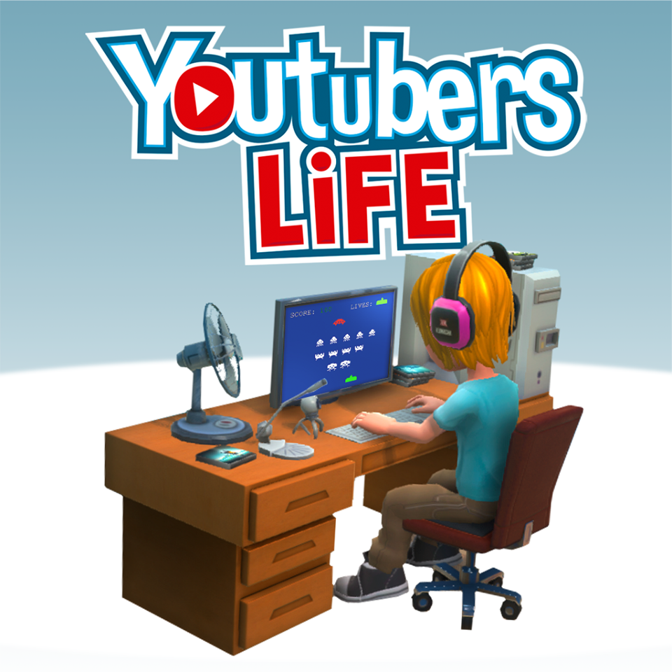 Youtubers Life Font.