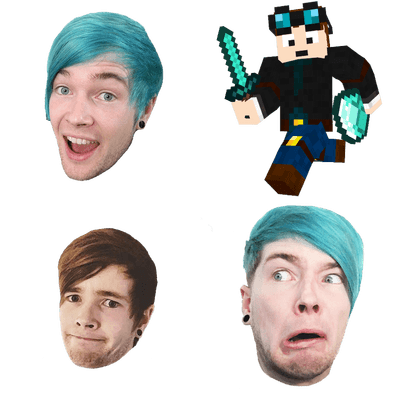 Youtubers transparent PNG images.