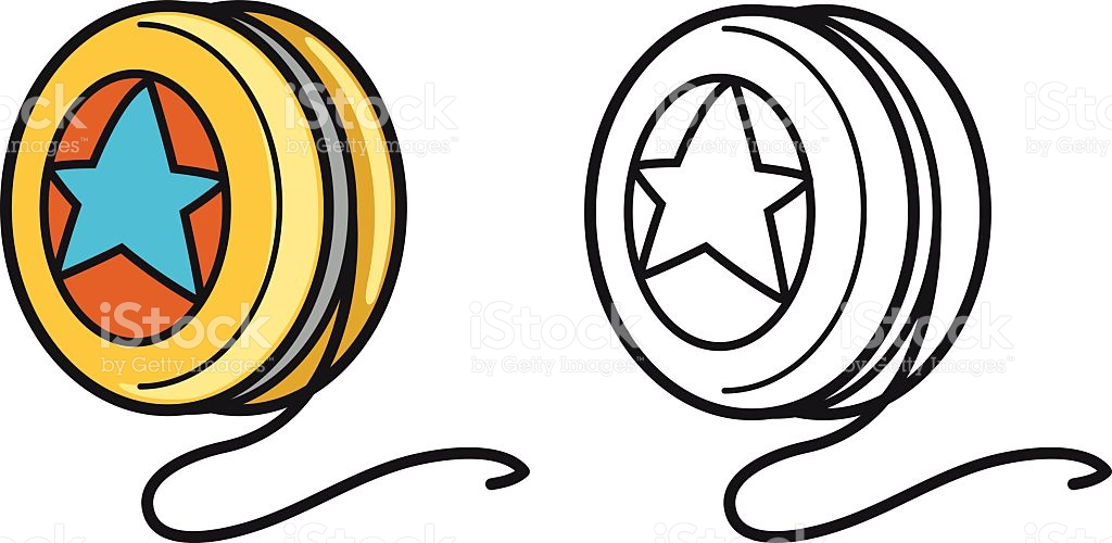 Yoyo clipart black and white 6 » Clipart Station.