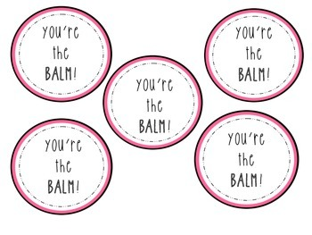 You\'re The Balm Worksheets & Teaching Resources.