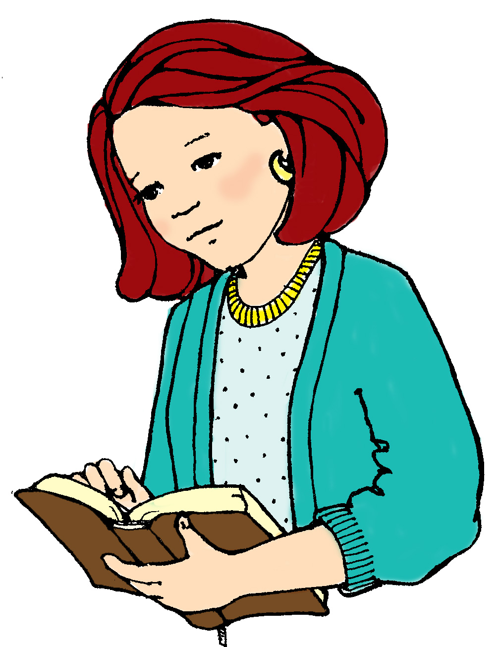 Young woman clipart 1 » Clipart Station.