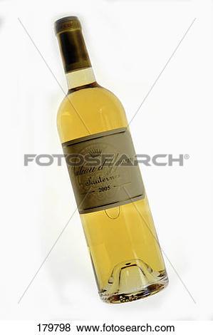 Pictures of Bottle of Sauternes Château d'Yquem 2005 179798.