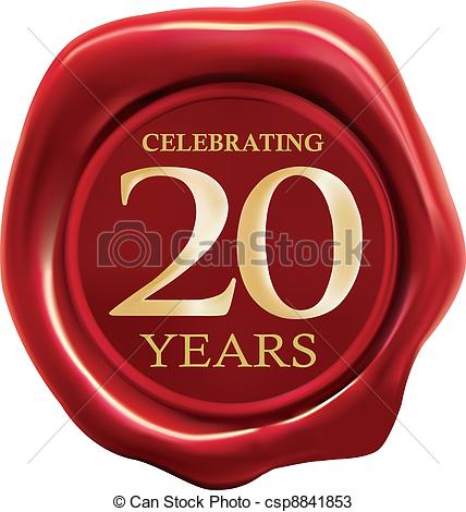 20 Year Clipart.