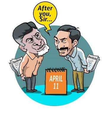 Why manifestos of TDP and YSRCP are a \'secret\'.