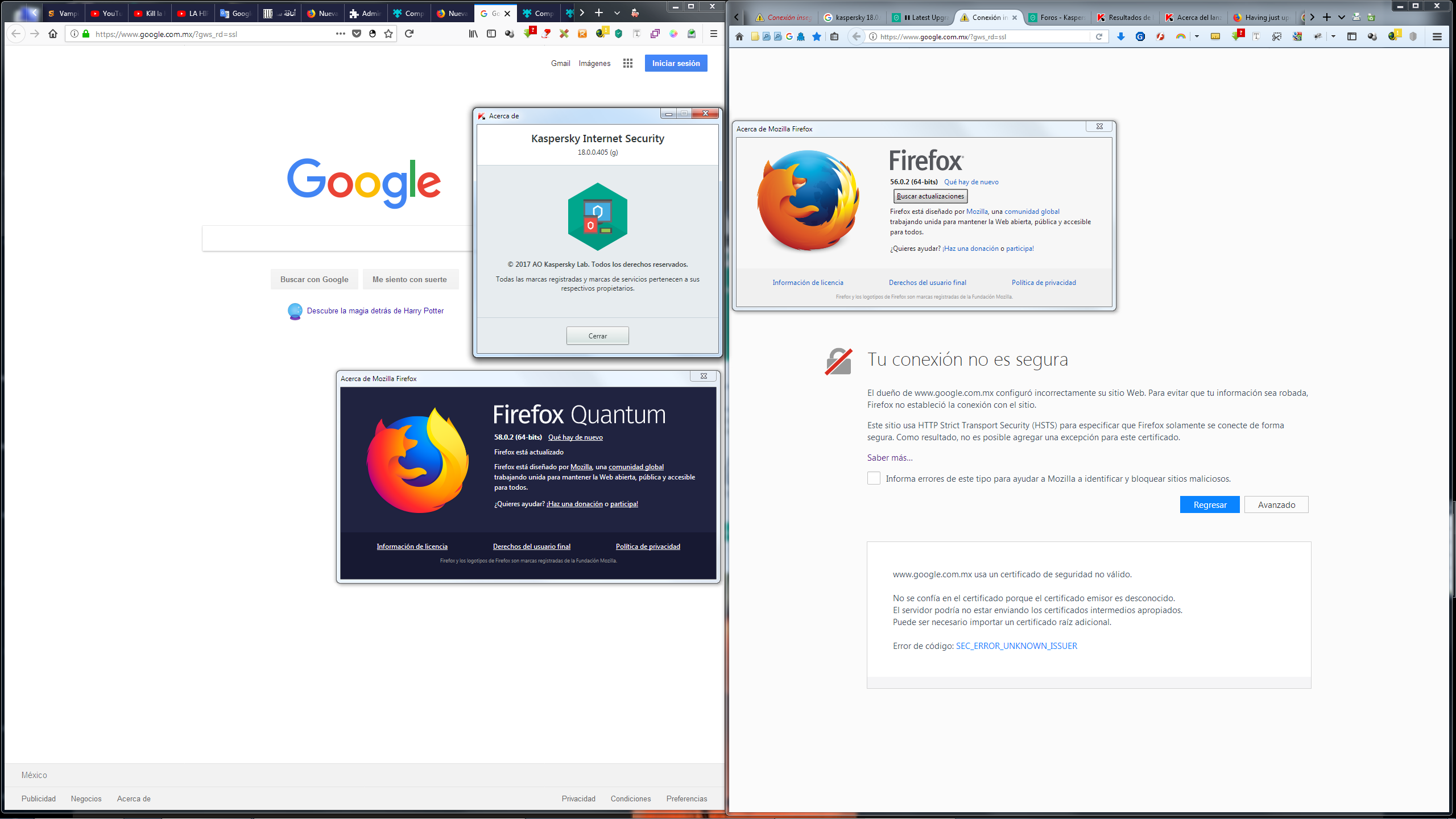 Latest Upgrade stops Outlook and Firefox [5 posts merged.