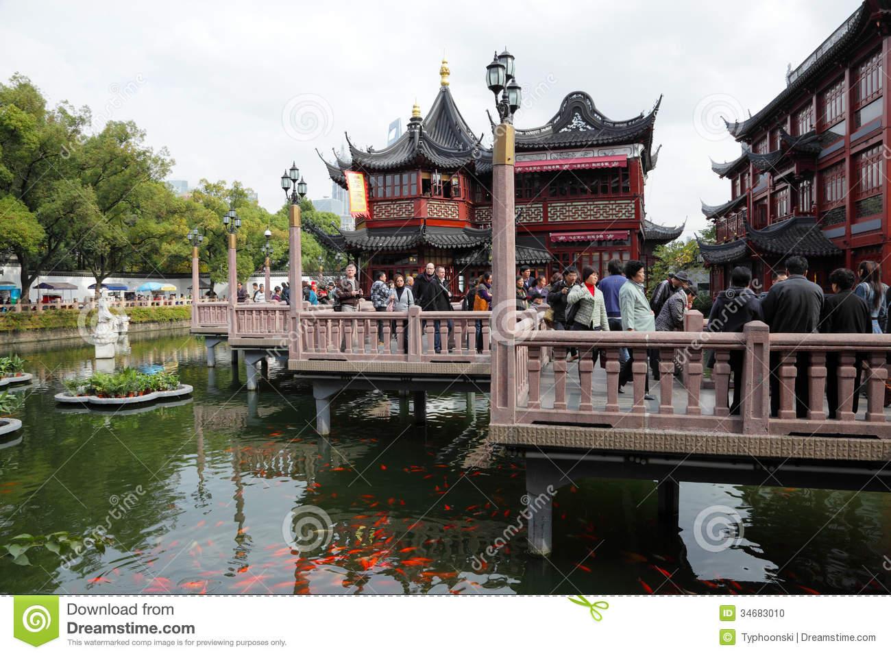 Yuyuan Garden In Shanghai Editorial Image.
