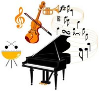 Clip Art Band And Orchestra Clipart.