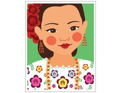 Mexican or hispanic clipart.