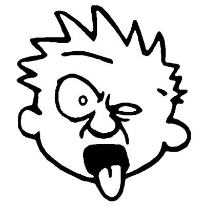 Mr. Yuck Clipart.