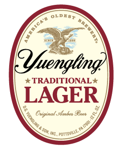 Yuengling Brewery Traditional Lager.