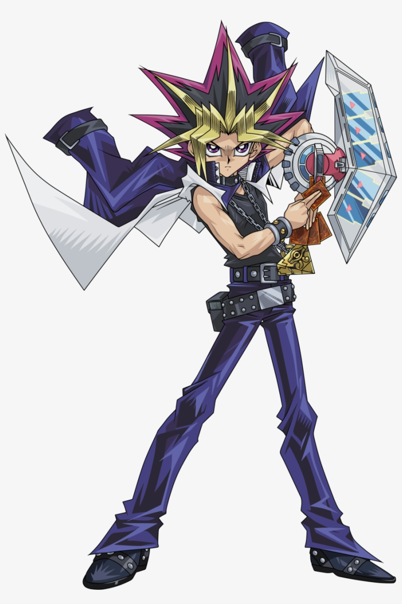Yu Gi Oh Duel Monsters Yami Yugi Atem Render By Raidengtx.
