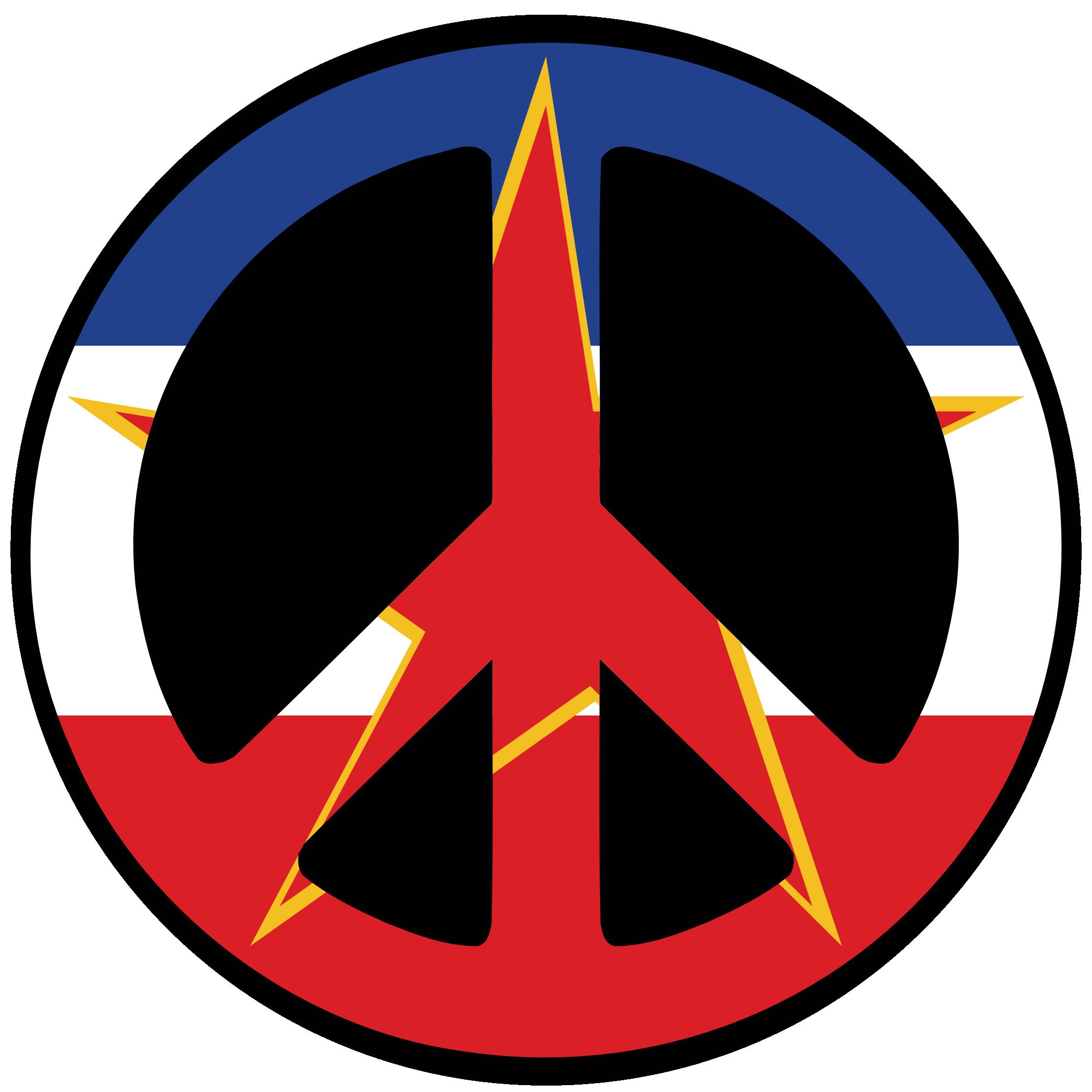 Yugoslavia Flag.