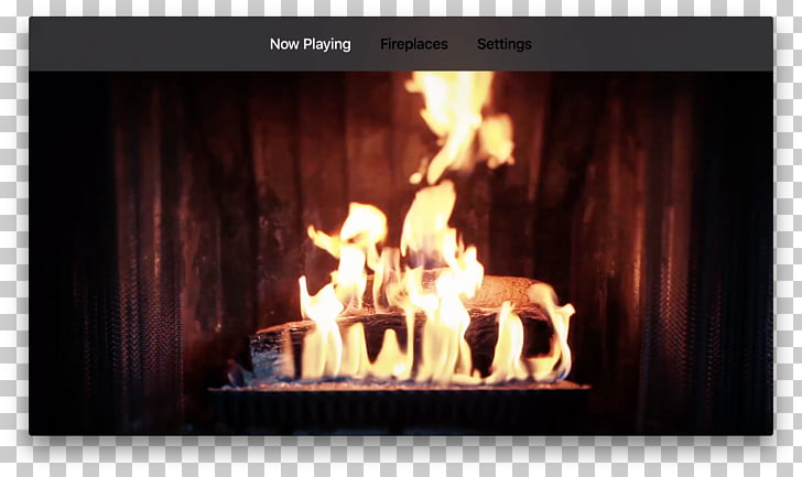 Electric fireplace Hearth Television Yule log, flame PNG.