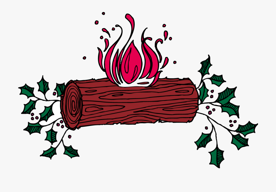 Christmas Yule Log Clip Art , Transparent Cartoon, Free.