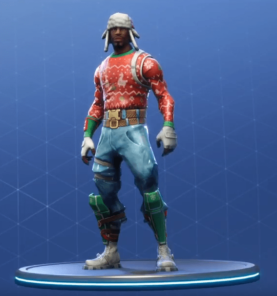 Fortnite Yuletide Ranger Skin.