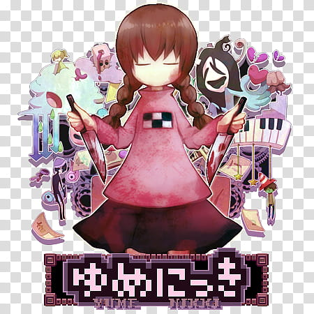 Yume Nikki RPG Icon, Yume_Nikki_by_Darlephise, Yumi Nikki.