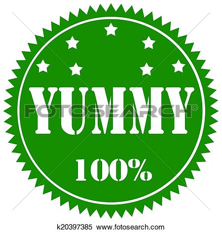 Clipart of Yummy.