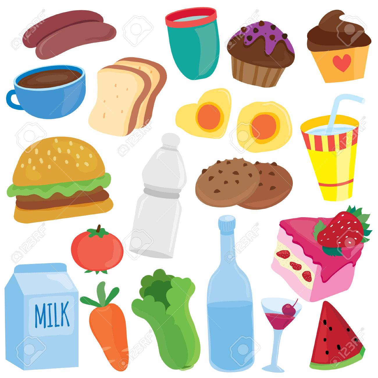 yummy breakfast clip art.