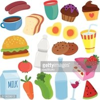 Yummy Breakfast Clip Art stock vectors.