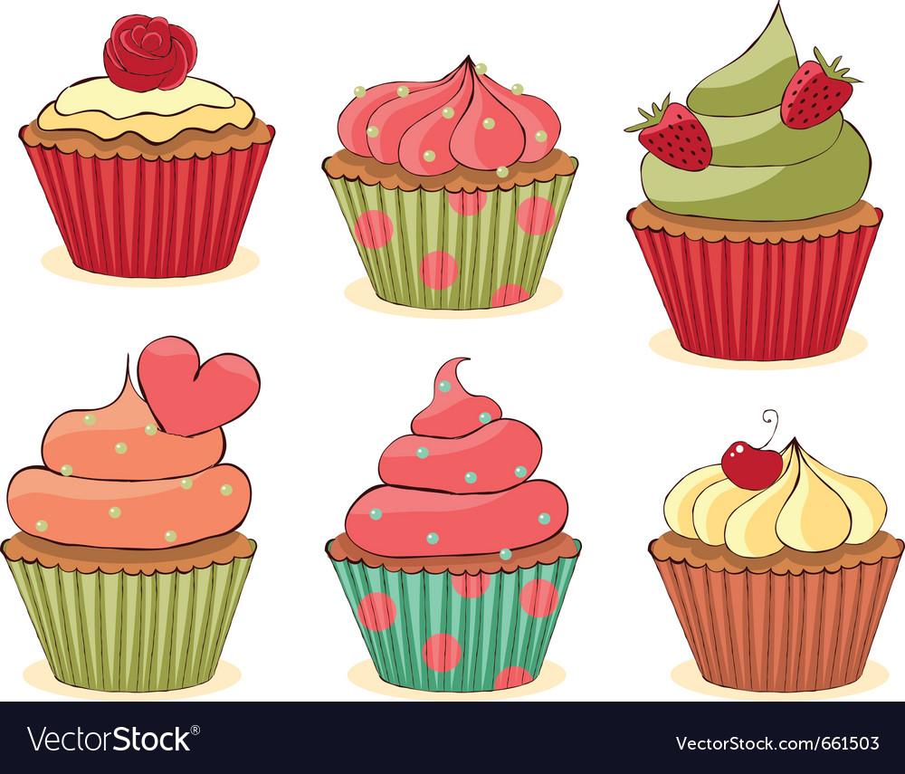 Yummy cupcakes.