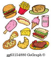 Yummy Food Clip Art.