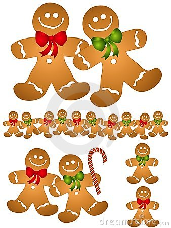 Free images gingerbread cookie man clipart.