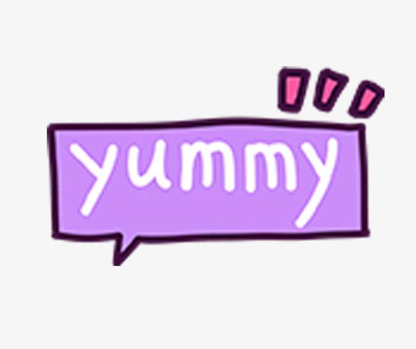 Yummy Dialog Box Decoration, Yummy, Dialog, Decoration PNG.