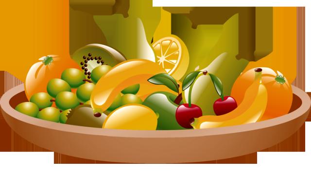 Clip Art of Yummy Snacks.