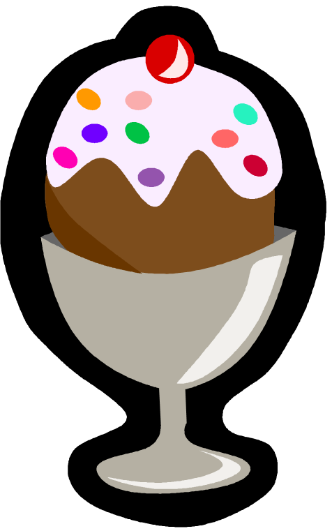 Ice cream treat clipart.