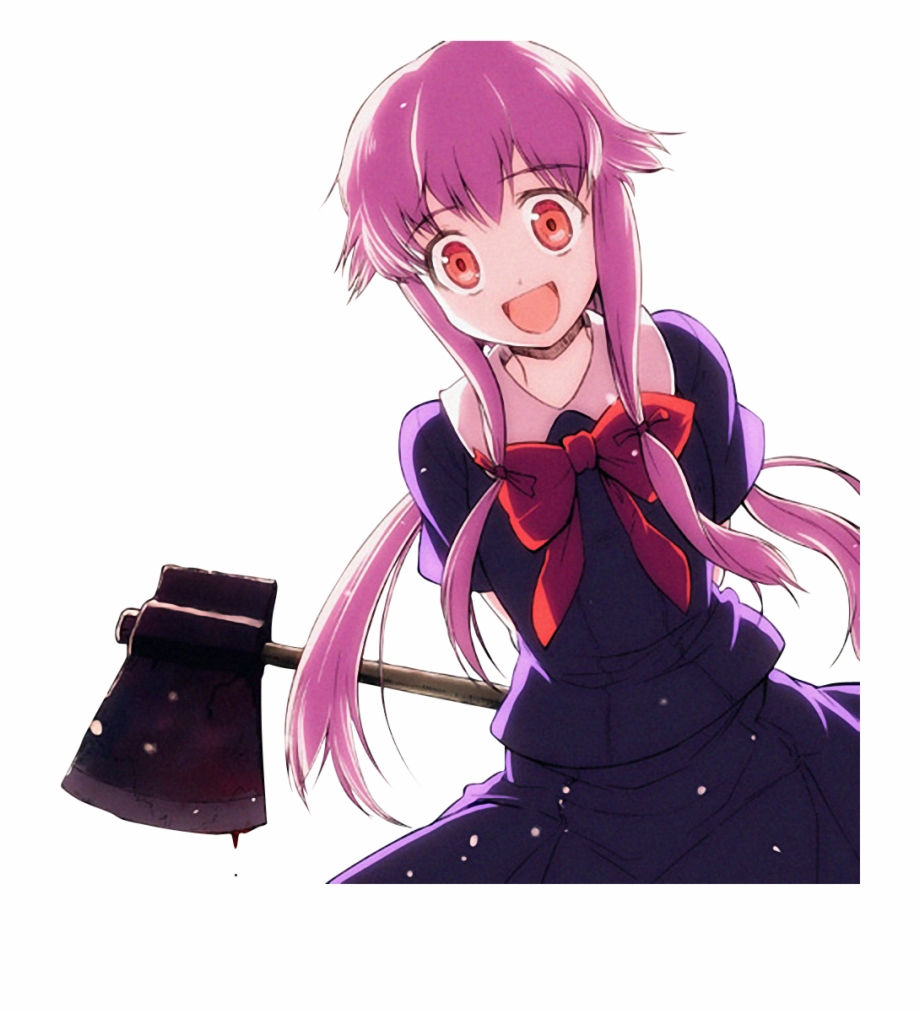 Transparent Yuno Gasai Png Free PNG Images & Clipart.