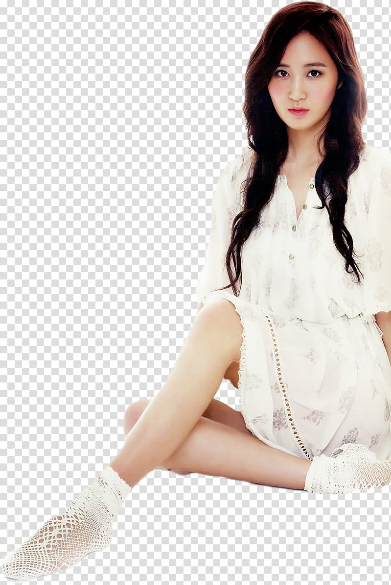 Yuri SNSD transparent background PNG clipart.