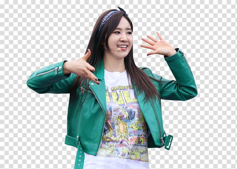 Kwon Yuri SNSD transparent background PNG clipart.
